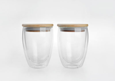 Double Wall Insulated Drinking Cup Set of 2